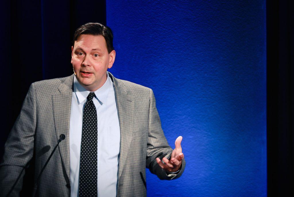 Stephen Sandage at the Integration Symposium (2)
