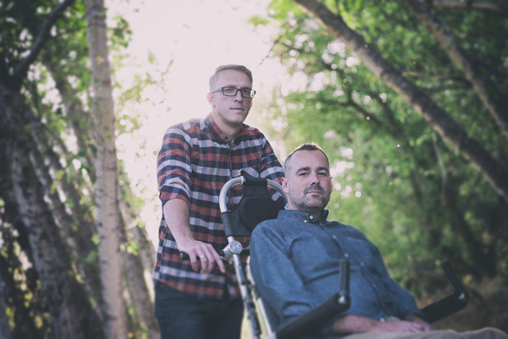 Justin Skeesuck and Patrick Gray (I'll Push You)