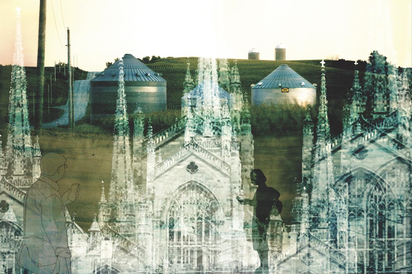 Field and Church (Denise Klitsie)