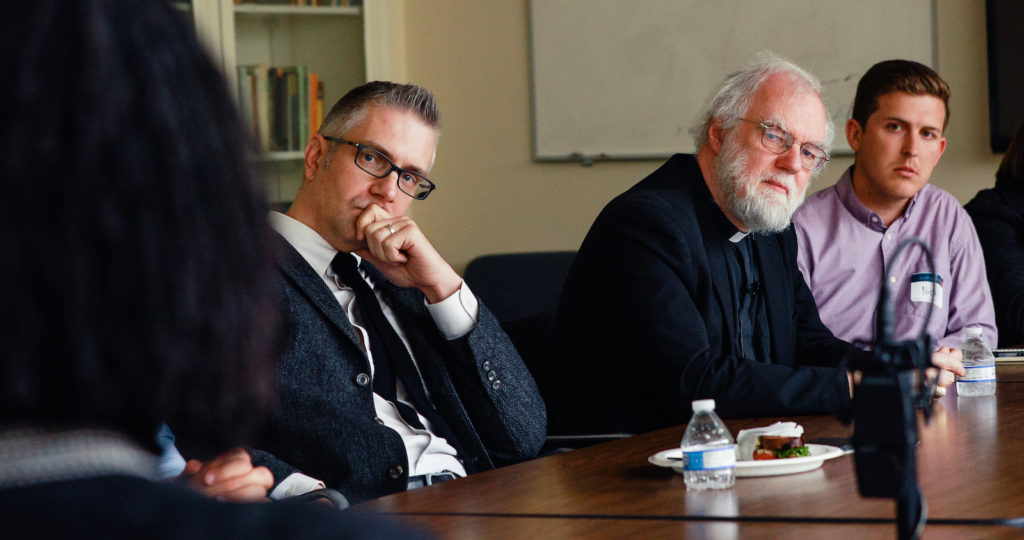 In the Room with Rowan Williams