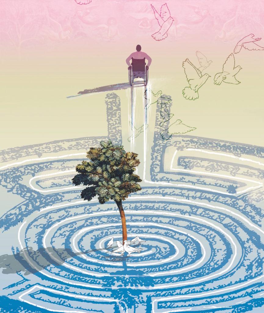 Prayer Labyrinth by Denise Klitsie