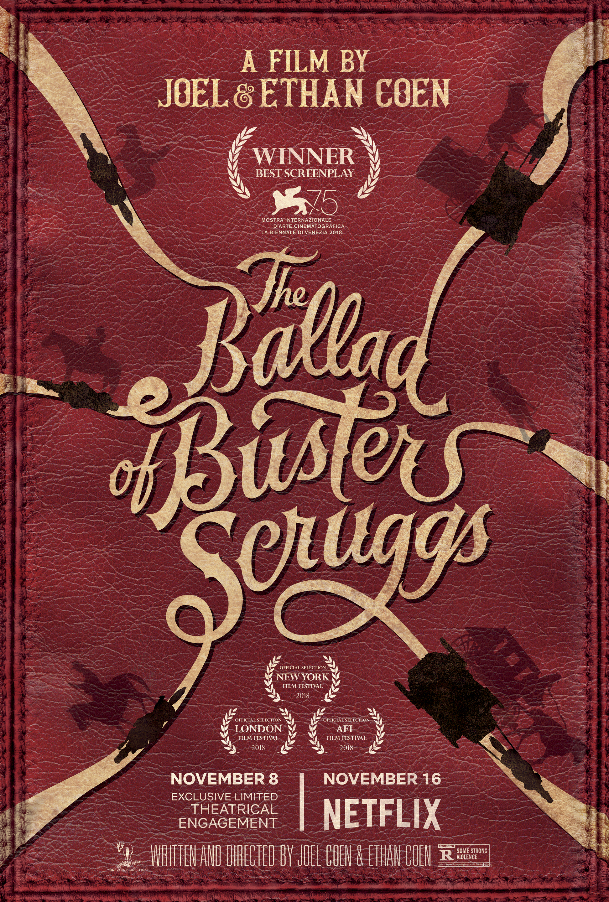 buster scruggs poster