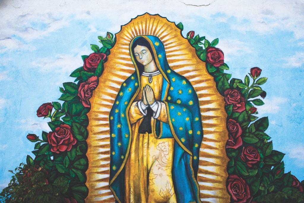 Mary Mural (Joyce del Rosario)