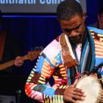 man playing an instrument
