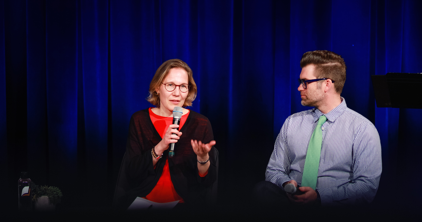 Q & A | Ruth Illman and Kutter Callaway