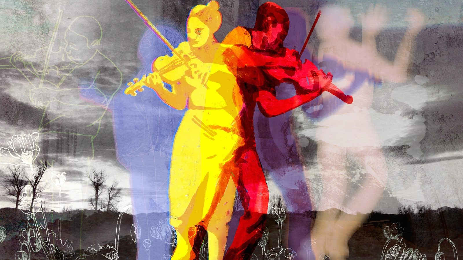Violins by Denise Klitsie