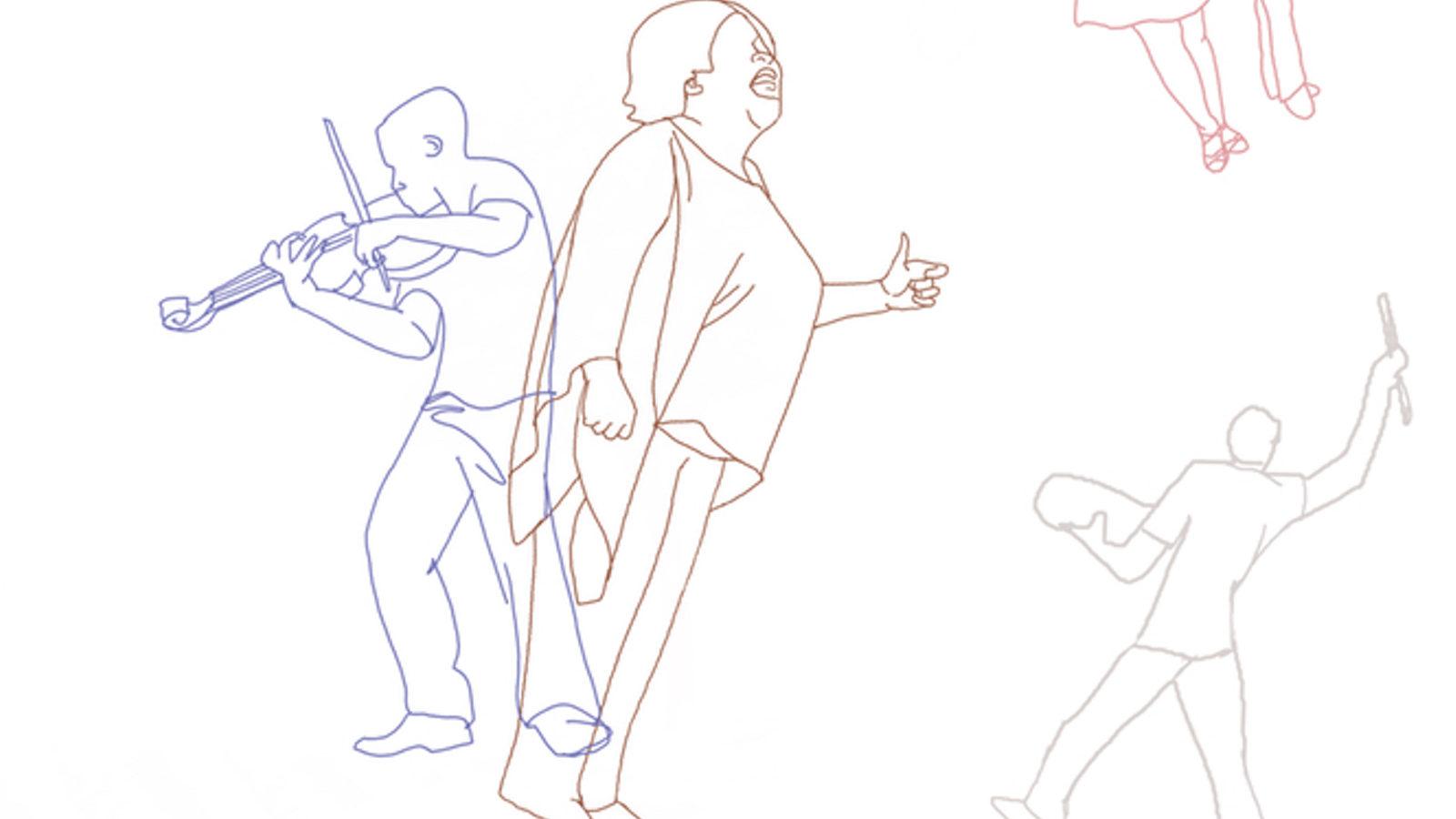 Worship illustration by Denise Klitsie