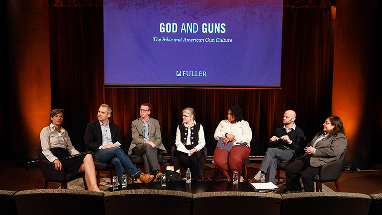 God and Guns panel