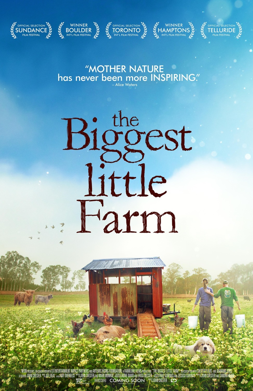Biggest Little Farm Poster