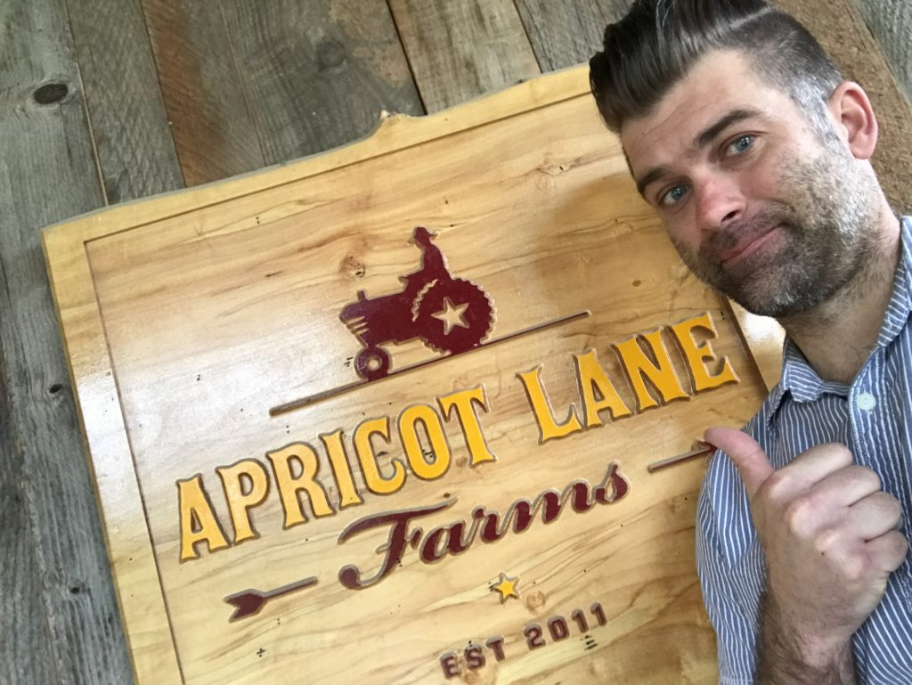 Kutter at Apricot Lane farms
