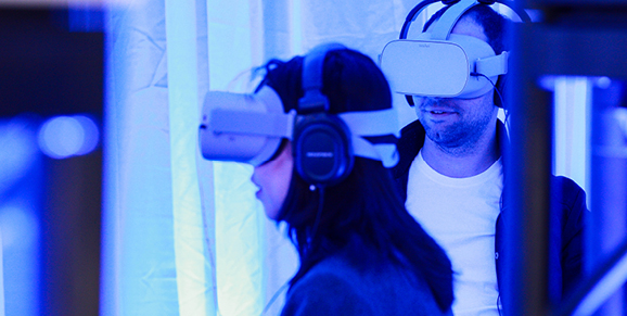 VR headset missiology