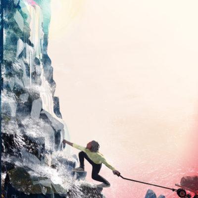 andre climbing