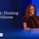 Thema Bryant-Davis and the words FULLER dialogues: Holistic Healing and Wellness