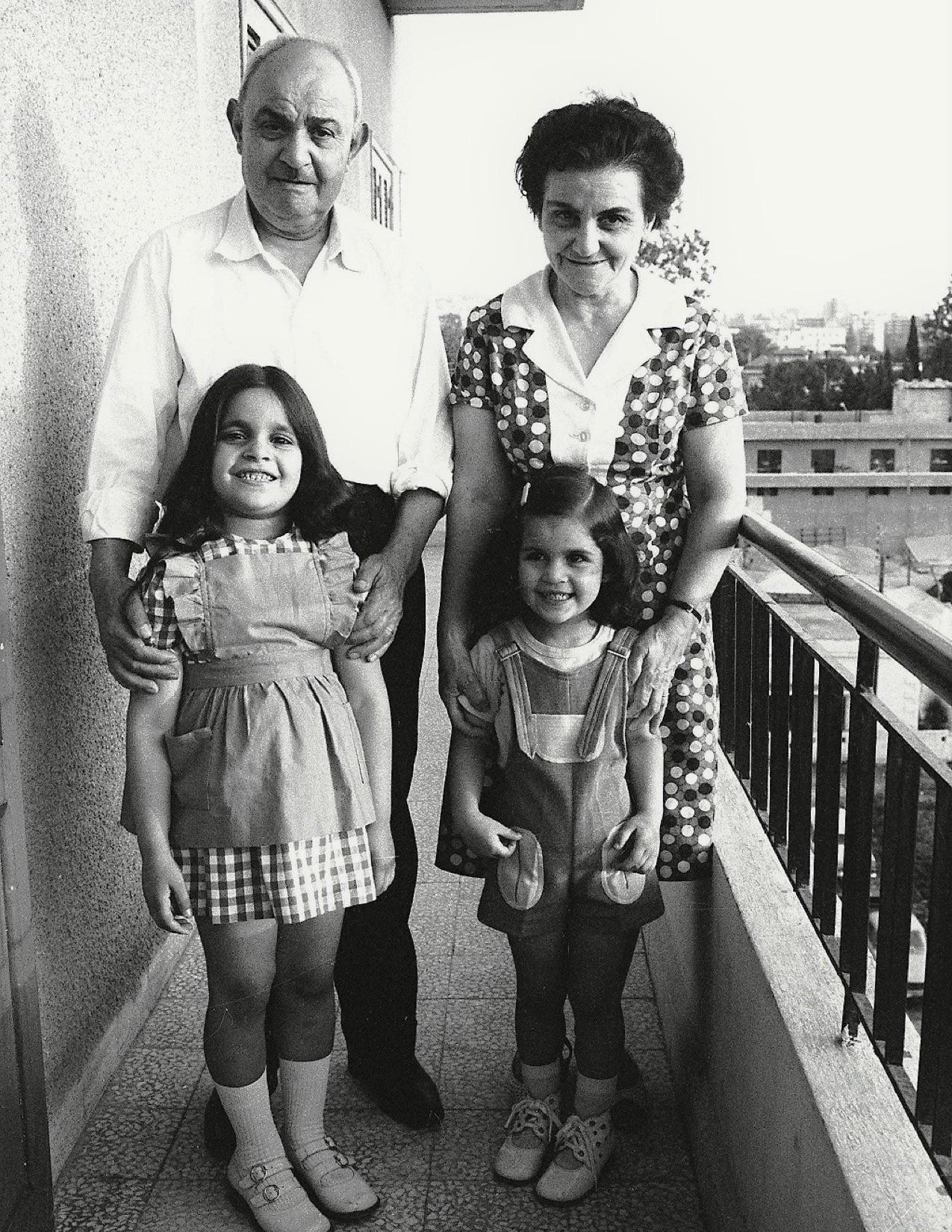 Grandfather Natan, Sirvart Auntie, Doris and Arda