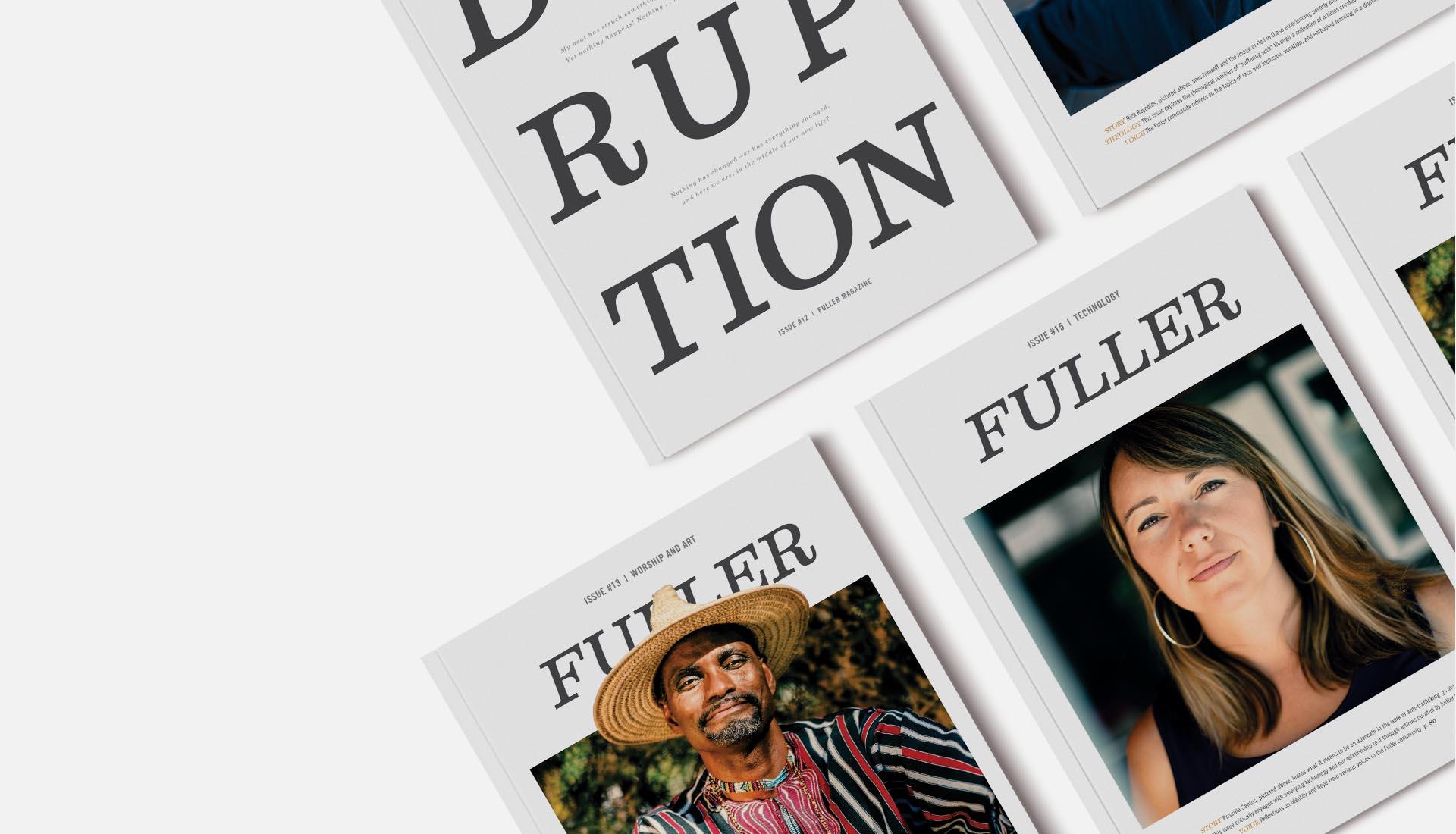 Magazine Header