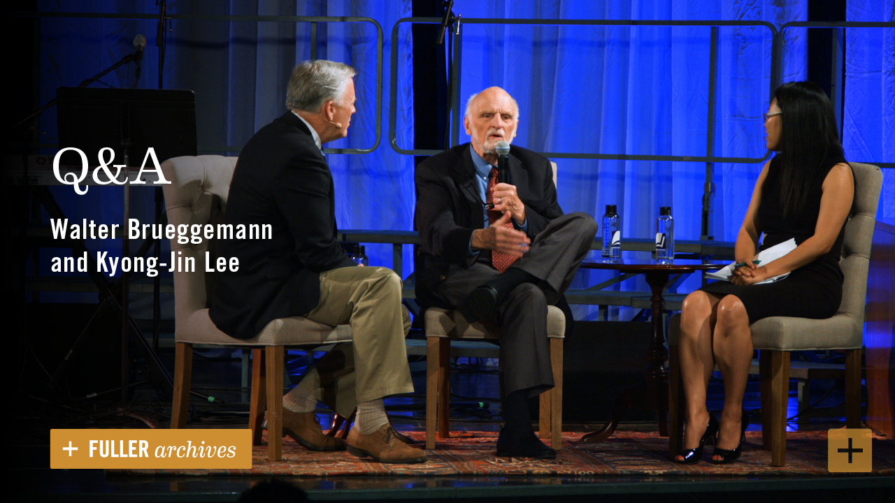 Q&A | Walter Brueggemann and Kyong-Jin Lee