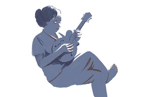 thumb illustration of person playing aguitar