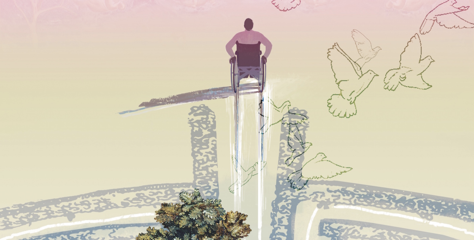 wheelchair labyrinth