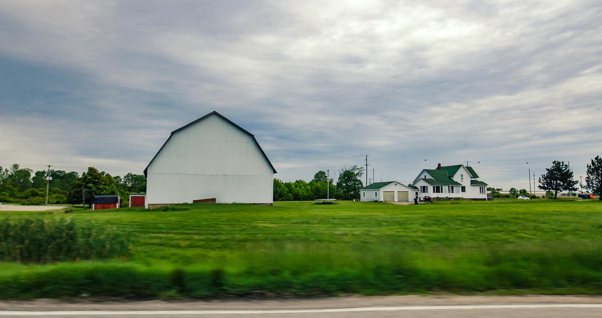 farm in Michigan