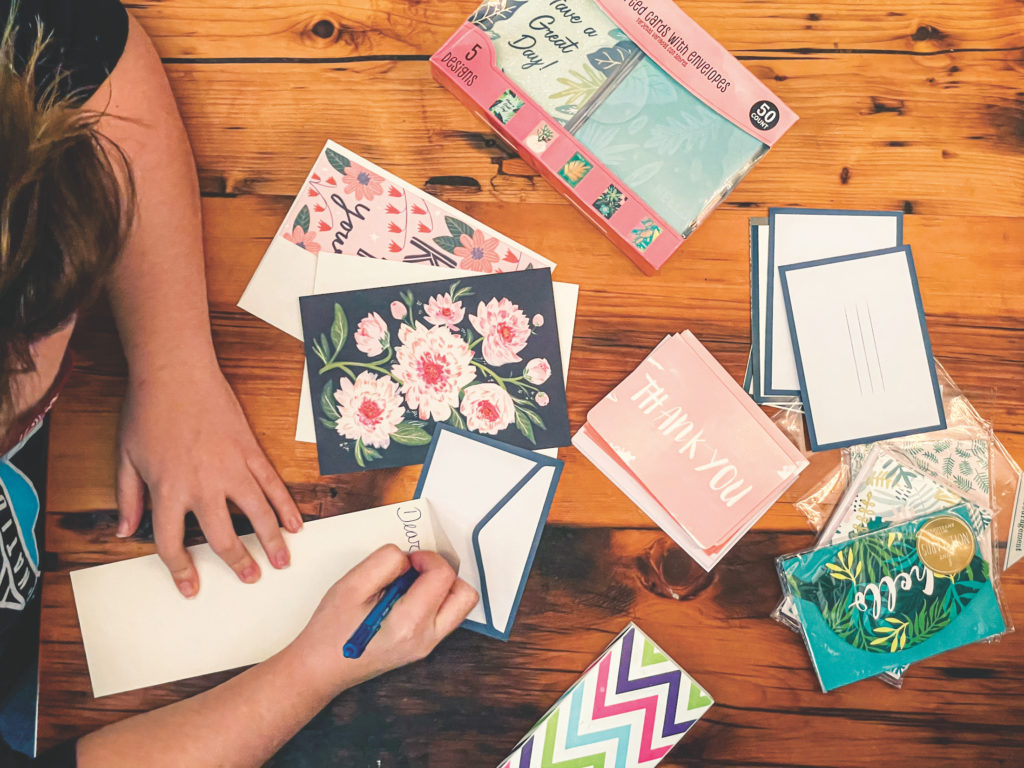 writting cards