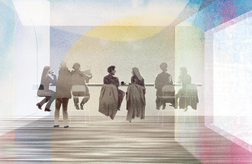 illustration of people at a table thumbnail