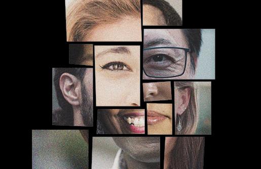 korean voices collage