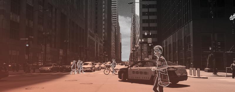 street scene banner