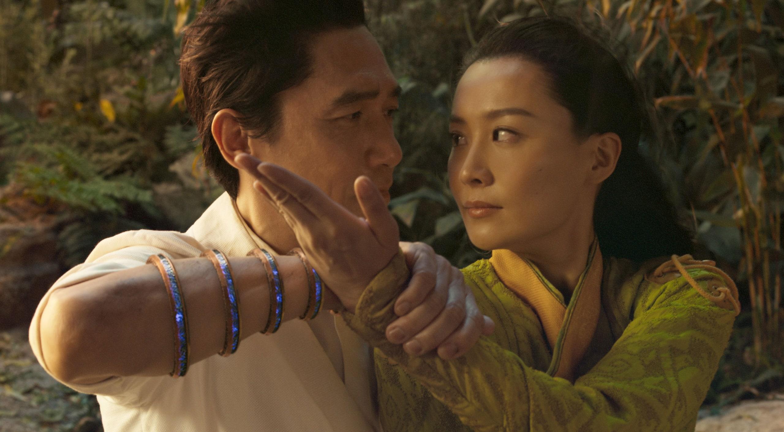 Tony Leung and Fala Chin